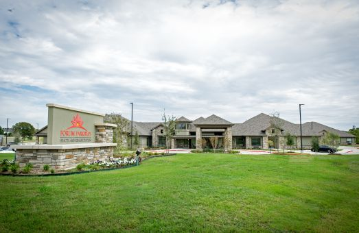 Residents receiving quality healthcare at Forum Parkway nursing home in Bedford, TX