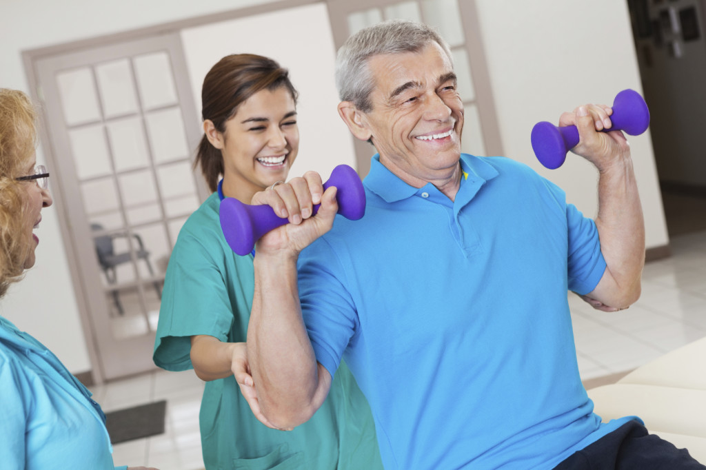 Rehabilitation and Therapy Services at Forum Parkway Health and Rehabilitation nursing home.